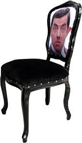 casa padrino barock luxus esszimmer stuhl karikatur design schwarz designer stuhl design möbel