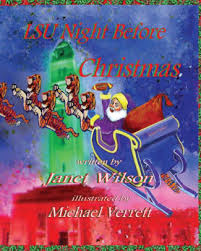 LSU Night Before Christmas by Janet Wilson Hardcover