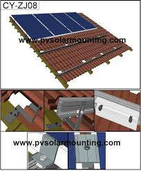 installation of solar panels on tile roof best roof 2017