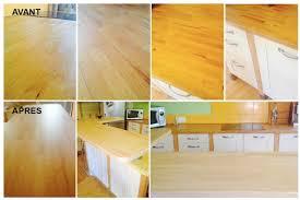 rénover plan de travail cuisine carrelé rénover plan de travail en bois cuisine mobilier mag maison