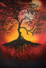 Tree Fantasy Painting Abstract