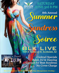 Persian Room Fine Dining Scottsdale Az by Raven U0027s 8th Annual Summer Sundress Soiree