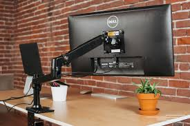 Desk Mount Monitor Arm Dual by The Best Monitor Arms
