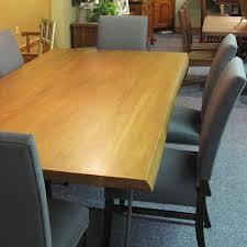 Hickory Slab Live Edge Table