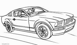 Ausmalbilder Ford Mustang 466 Malvorlage Autos Kostenlos Zum Ausdrucken