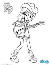My Little Pony Rainbow Rocks Coloring Pages Applejack Photos And Pictures Collection That Posted Here Was Carefully Selected Uploaded By