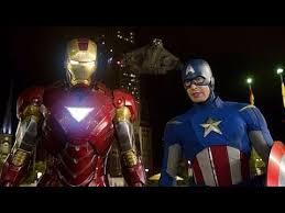 Iron Man Captain America Vs Loki