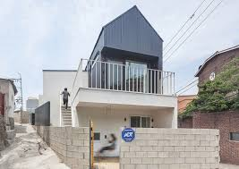 100 South Korean Houses OBBA Built This Affordable 538squarefeet Daylit House In