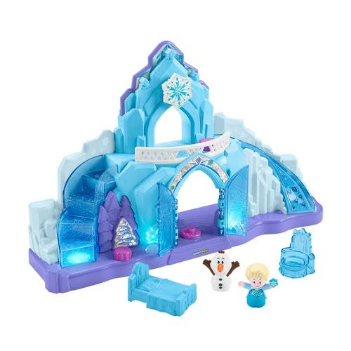 Little People Disney Frozen Elsa's Ice Palace Musical Light Up Playset