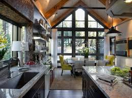 Best Floor For Kitchen And Living Room by Kitchen Open Floor Plan Kitchen Living Room Living Room Kitchen