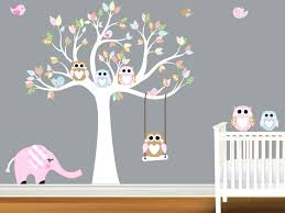Girl Monkey Nursery Wall Decor Baby Boy Ideas Animals