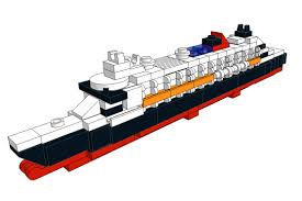Lego Ship Sinking 2 by Mini Models Lego Rms Queen Mary 2 The Bobby Brix Channel