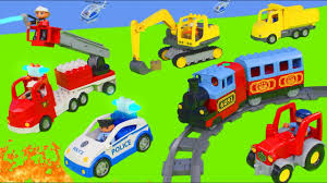 Fire Truck, Excavator, Train, Garbage Truck, Police Cars & Tractor ... Lego 5637 Garbage Truck Trash That Picks Up Legos Best 2018 Duplo 10519 Toys Review Video Dailymotion Lego Duplo Cstruction At Jobsite With Dump Truck Toys Garbage Cheap Drawing Find Deals On 8 Sets Of Cstruction Megabloks Thomas Trains Disney Bruder Man Tgs Rear Loading Orange Shop For Toys In 5691 Toy Story 3 Space Crane Woody Buzz Lightyear Tagged Refuse Brickset Set Guide And Database Ville Ebay