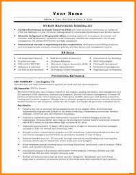 Senior Executive Cover Letter Examples Inspirational Hr Resume