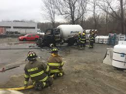 100 Propane Truck Local Firefighters Commended For Quick Response To Propane Truck