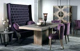 High Backed Dining Bench Room