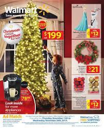 Pre Lit Christmas Trees Walmart Canada by Walmart Catalog November 13 To 26