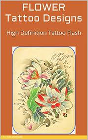 FLOWER Tattoo Designs High Definition Flash Tattoos