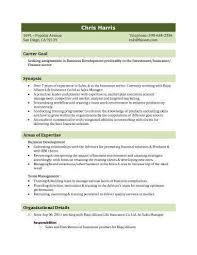 3 Biodata Resume Template