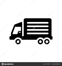 Truck Icon Trendy Truck Logo Concept White Background Transportation ...