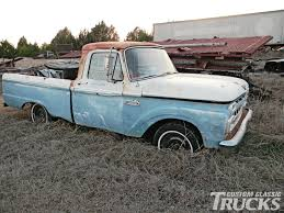 1965 Ford F-100 Project Truck - Hot Rod Network Ringbrothers Ford F100 Bows Sema 2017 Authority M2 Machines Automods Release 6 1969 Ranger Truck 1957 Pickup Hot Rod Network 1951 Stock T20149 For Sale Near Columbus Oh Why Nows The Time To Invest In A Vintage Bloomberg 1960 Forgotten Effie Photo Image Gallery Greenlight Allterrain Series Fordf100inspired Trophy Shows Off Its Brawn In The Desert Big Window Parts Calling All Owners Of 61 68 Trucks 164 Cacola 2 1956 Free 1966