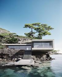 104 River Side House Architecture Design On Instagram Dream Side Would You Live Here Designed And Visualized By In 2021 Side Design Architecture