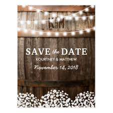 Rustic Country Save The Date