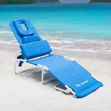 Tri Fold Lounge Chair by Ergo Lounger Rs Beach Chaise Lounge Hayneedle