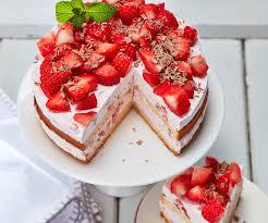 erdbeer sahne torte ohne gelatine