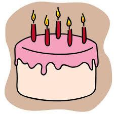 Birthday cake slice clip art Piece of cake clipart