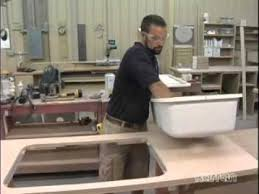 Karran Undermount Sink Uk by Karran Acrylic Sink Install In Laminate Bondo Method Youtube