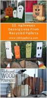 Halloween Cemetery Fence Diy by 25 Best Pallet Halloween Decorations Ideas On Pinterest Diy