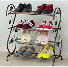 Tyrone Steel Shoe Rack isShoe Singapore