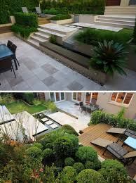 13 Multi-Level Backyards To Get You Inspired For A Summer Backyard ... 13 Multilevel Backyards To Get You Inspired For A Summer Backyard How To Create A Level Lawn Hgtv Your Garden Without Any Tools Youtube Charcoal Slate Patio Stones With Pea Stone Gravel Square Fire Bilevel Deck Home Pinterest Decking Porch Bench And Stone Pavers Patio Pond Hardscape With Garden Photo Leveling The Backyard Next Outdoor Makeover Of Bare Lifeless Pictures Two Deck Jacuzzi On The First Floor And