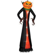Walmart Canada Halloween Inflatables by Halloween Airblown Inflatable 12 Ft Pumpkin Reaper Walmart Com
