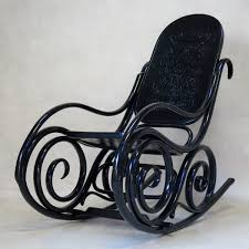 Bentwood Rocking Chair Attributed To Thonet, Early 20th Century