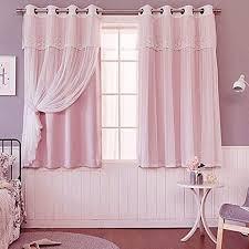 gjxy mädchen schlafzimmer doppelschicht lichtdicht vorhang
