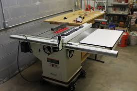 Grizzly 1023 Cabinet Saw by Review Jet Cabinet Saw By Cato Lumberjocks Com Woodworking