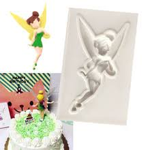 Candy Mould 1PC Childhood Flower Fairy Silicone Chocolate Soap Mold Baking Pan Cake Decorating Tools Kitchen