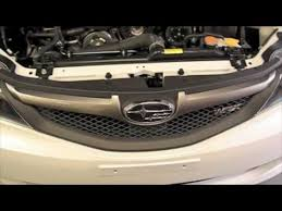 how to remove the headlight from a subaru impreza