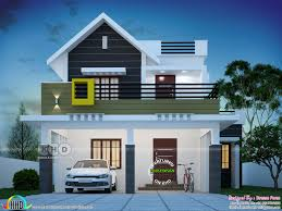 100 New Modern Home Design 1564 Square Feet 4 Bedroom Cute Kerala Home Design In 2019