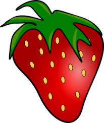 Red Delicious Strawberry Clip Art