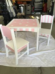Old Toddler/kids Table And Chairs- Pink And White Diy ... Linon Jaydn Pink Kid Table And Two Chairs Childrens Chair Mammut Inoutdoor Pink Child Study Table Set Learning Desk Fniture Tables Horizontal Frame Mockup Of Rose Gold In The Nursery Factory Whosale Wooden Children Dressing Set With Mirror Glass Buy Tablekids Tabledressing Product 7 Styles Kids Play House Toy Wood Kitchen Combination Toys Ding And Chair Room 3d Rendering Stock White 3d Peppa Pig 3 Piece Eat Unfinished Intertional Concepts Hot Item Ecofriendly School Adjustable Blue