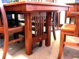 Craftsman Style Dining Room Table Furniture Mission
