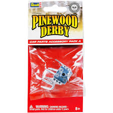 Michaels Wedding Car Decorations by Revell Pinewood Derby Car Parts Accessory Pack
