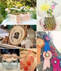 DIY Ideas For Rustic Weddings Summer Wedding Decoration