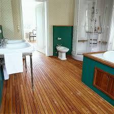 teak badezimmer boden teakboden badezimmer teakholz