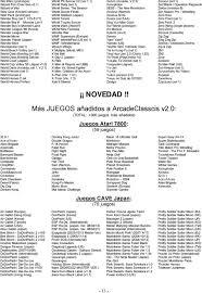 MULTIJUEGOS ARCADE CLASSICS - PDF