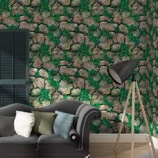 indische tapete grün hintergrund wand zimmer wohnzimmer