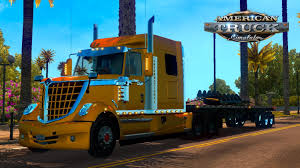 INTERNATIONAL LONE STAR TRUCK V2.0 - American Truck Simulator Mod ...